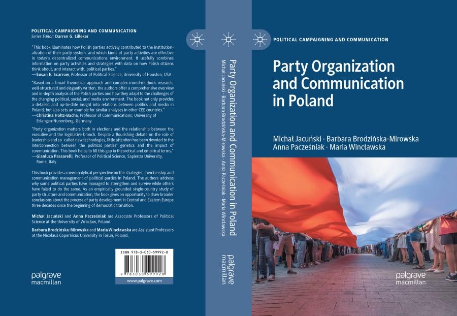 image: Można już przeczytać nową książkę, której współautorką jest Pani prof...