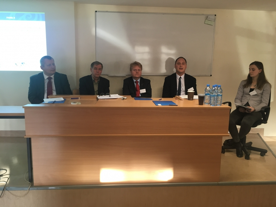 """image: Fotorelacja - konferenecja naukowa: Perspektywy rozwoju UE: między """"twardym j..."""